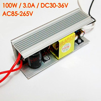 100W High PF LED Driver Light Lamp Chip For Transformers Power Supply 3000mA Input AC 85V