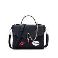 PU Leather Candy Handbags Women Purse Luxury Designer sac a main Vintage Fashion Girls Mini Samll Shoulder Messenger Bag Ladies