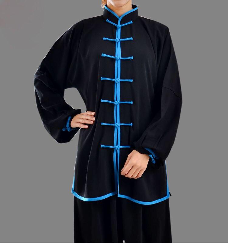 Alibaba グループ 上の 29 色最高品質ユニセックス太極拳の制服太地朝運動スーツカンフー武道トレーニング服の服 1