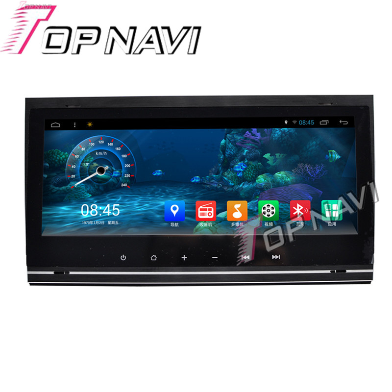 Topnavi 8.8 Android 6.0 Car PC GPS Navigation for Audi A4 2002 2003 2004 2005 2006 2007 2008 Capacitive Touch Screen NO DVD BT