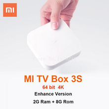[Genuine] Xiaomi Mi TV Box 3 pro Android 5.1 Smart 4K HD TV 3S 2G+8G Dual USBMiracast Dual Core Cortex-A72 TV BOX Only  Chinese