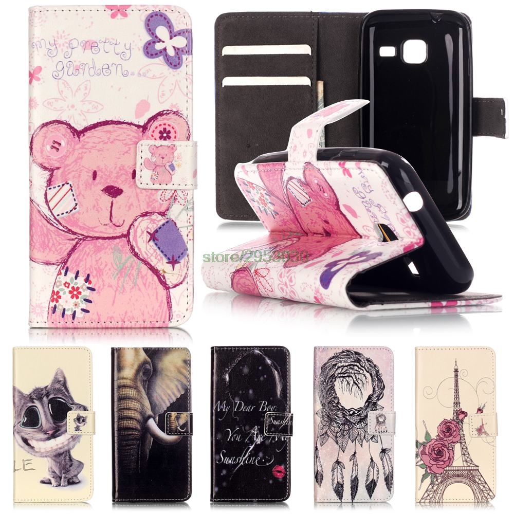 Phone Leather Cover Flip Case for Samsung Galaxy J1 J 1 mini 105 J1mini J105 SM-J105 J105H/DS SM-J105H/DS J105F/DS SM-J105F/DS