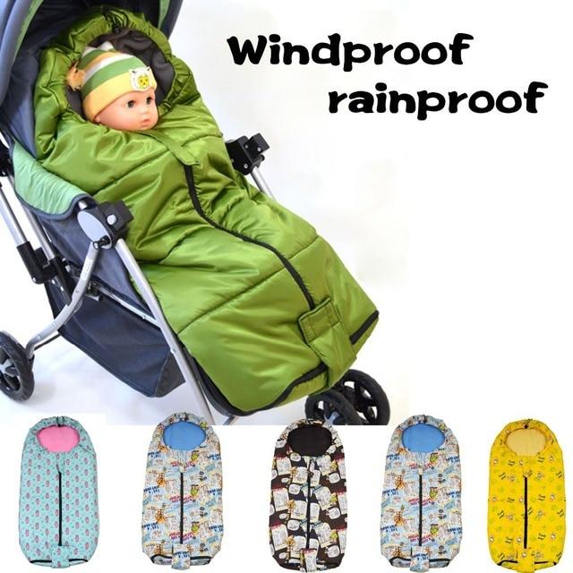€ 25.69  sac de couchage bébé poussette pied couverture d'hiver de la  couverture thermique chaussettes de voiture parapluie panier coton pad  coupe