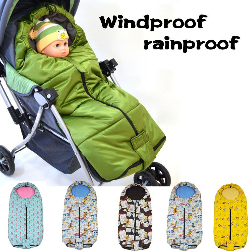 Baby Pram Aliexpress Sleeping Bag Baby Stroller Foot Cover Winter Of The Cover