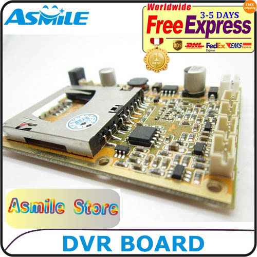 microh 264 compression cctv dvr board factory with remote controller from ASmile цена