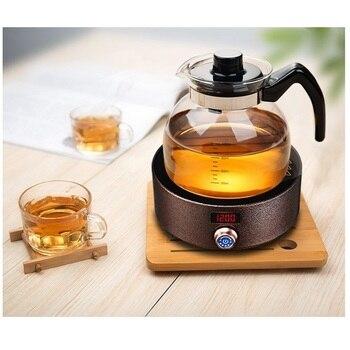 DMWD электрическая мини-плита, нерадиционная плита для горячего чая, чайник, водонагреватель, бойлер, сиденье для нагрева молока, 3 ч