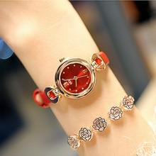 Dropshipping New 2019 Hot Selling Quartz Wrist Watches for Women Creative Elegant Leather Strap Fashion Relogio Feminino