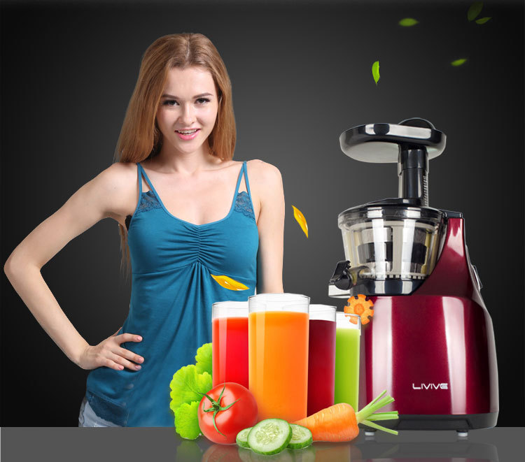Slow Juicer Fruit Vegetable Citrus Low Speed Juice Extractor Squeezer Soymilk Higher juice rate  slow juicer fruit vegetable citrus low speed juice extractor squeezer soymilk higher juice rate