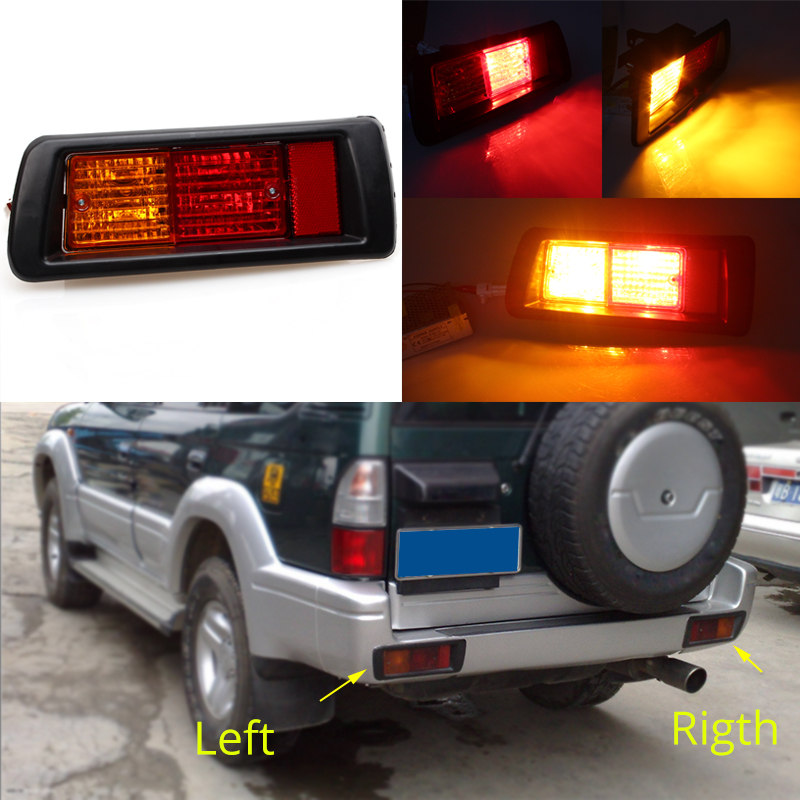 for Toyota Land Cruiser Prado 90 1997-2002 Rear LH Bumper Reflect Fog Light Lamp