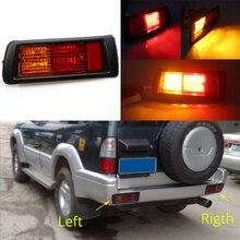 MIZIAUTO Rear Tail Light Fog Lamp for Toyota Land Cruiser Prado (90) 1997 1998 1999 2000 2001 2002 Red Bumper Tail Stop Light