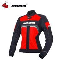 BENKIA мотоциклетная куртка женская мотоциклетные гоночные куртки Moto костюмы Racing Street Cruiser Байкер rbike панцири