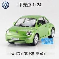 KINSMART Die Cast Metal Models 1 24 Scale Volkswagen New Beetle Toys For Children S Gifts