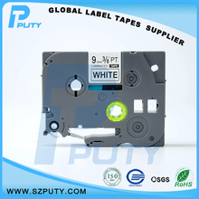 Производитель прямых продаж совместимость TZe-221 черным по белому 9 мм этикетки для Ptouch принтер с отличным совместимость