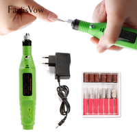 Nail Drill Bit Electric Apparatus Machine For Manicure Pedicure Milling Cutters Nail Art Cuticle Gel Remover