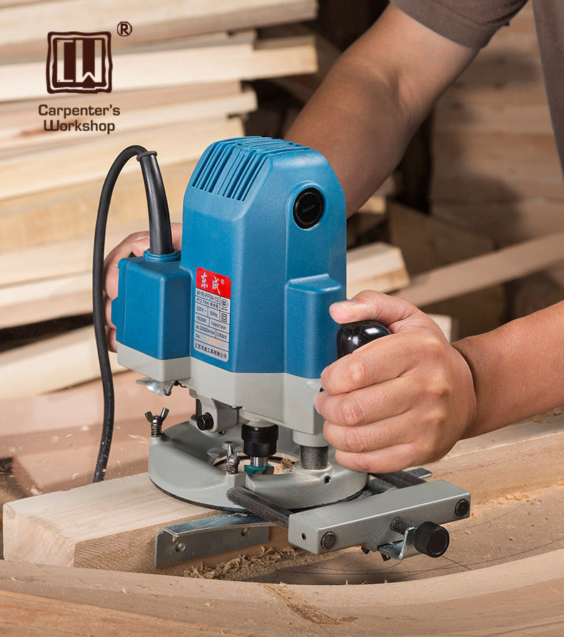 Max 1 2 Shank Router Motor with Edge Guide Circle Guide
