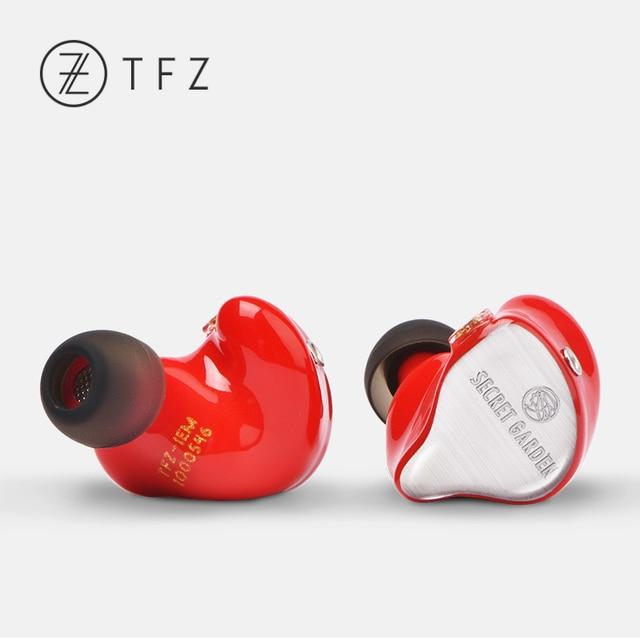 TFZ SECRET GARDEN HiFi HD Dynamic Driver In-ear earphone with 2Pin/ 0.78mm Detachable IEM Rich Bass 2