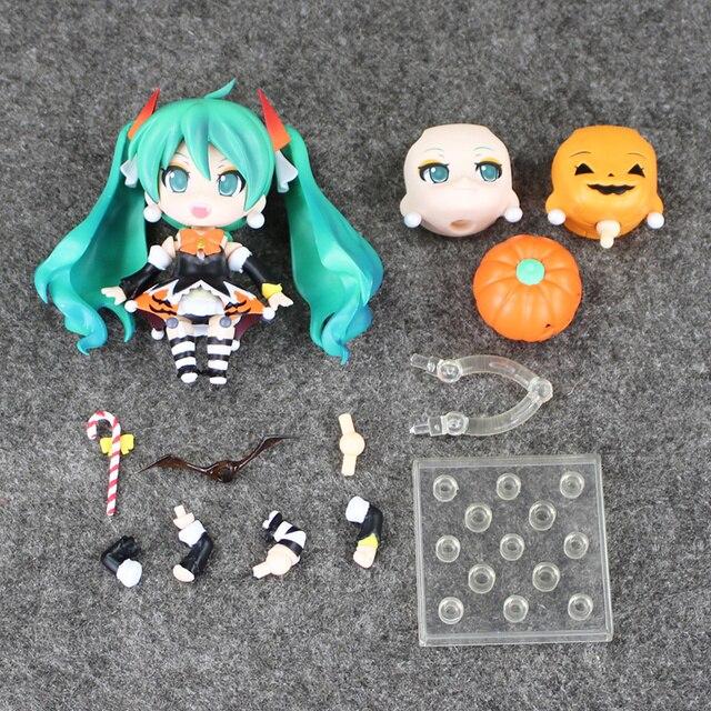 """Color box Hatsune Miku Halloween Nendoroid 448 PVC Action Figure Model Collection Toy 4"""" 10CM 5"""