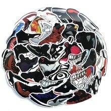 60PCS sports A J basketball sneakers suitcase suitcase laptop tide-bran