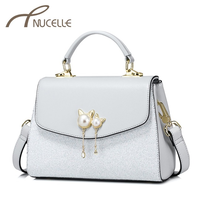 Nucelle Women S Pu Leather Handbags Las Fashion Cat Ears Messenger Tote Purse Female Elegant All