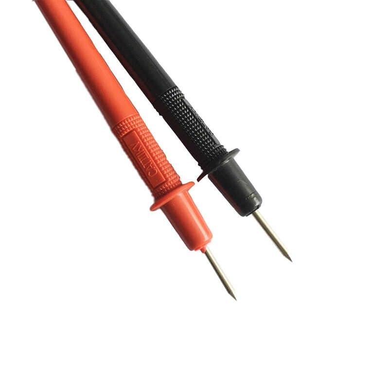 Plomb d'essai multimètre numérique, 1 paire de sonde de 70 cm, 1000 v, stylo à fil, câble pour les aiguilles de mètre à aiguille numérique, pistes de Test