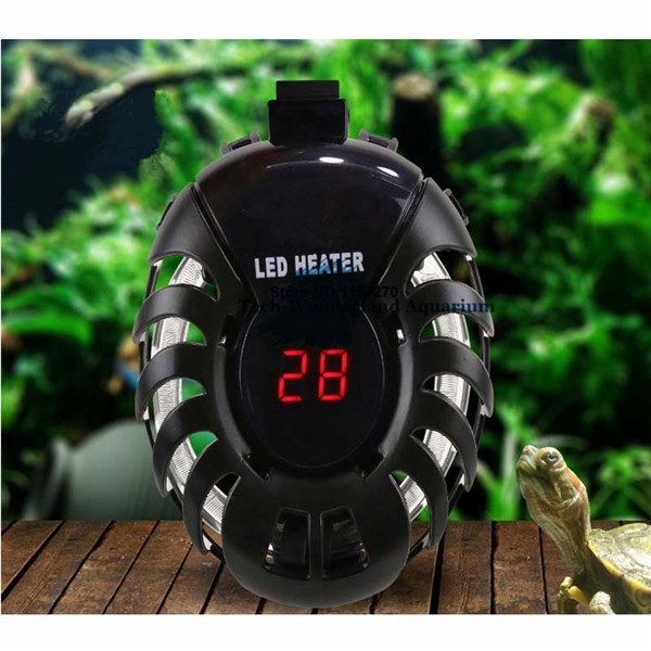 50W 100W Aquarium Heater Aquarium Electricheating Rods Digital Temperature Controller In Stick Fish Tank Turtle Tank