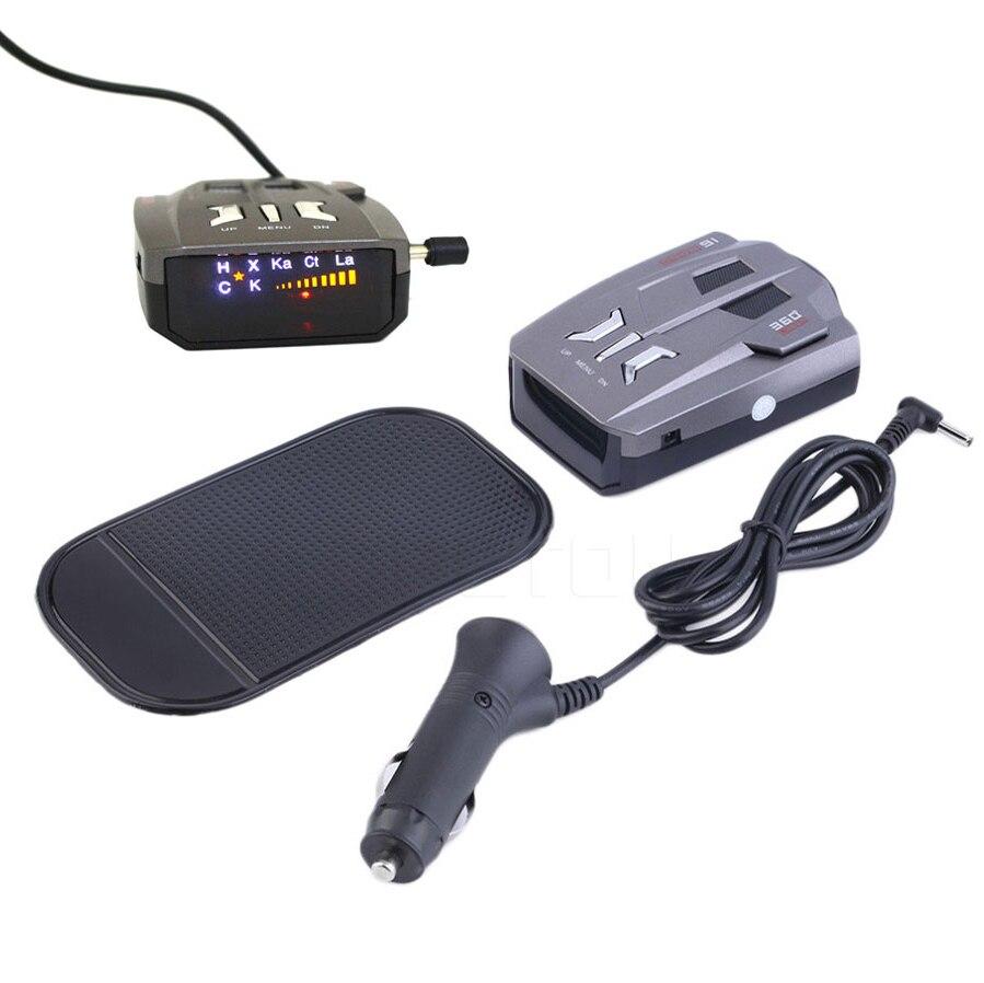 imágenes para V9 Pantalla LED del Radar del coche Detector Laser Detector de Radar Contra 360 Grados de Alerta de Advertencia Anti Detectores de Radar