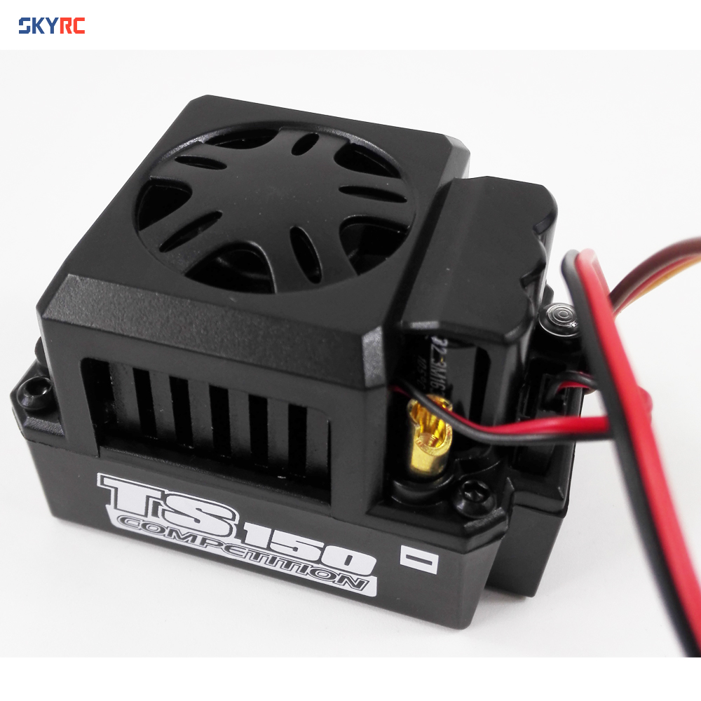 skyrc esc 150a Toro TS150A brushless sensorless speed control metel for 1/8 1 8 car buggy truggy monster truck accessory esc brushless skyrc toro ts150a sensored motor esc for 1 8 scale rc truck buggy truggy