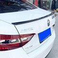 Для Skoda Superb 2015 2016 ABS пластик Неокрашенный праймер задний Багажник крыло задний спойлер украшение авто аксессуары автомобильные наклейки