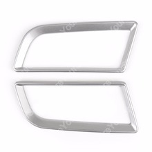 Areyourshop Car font b Interior b font Console Air Vent Cover Trim Stickers for Ford Mustang