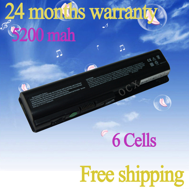 JIGU Special Price 6-cell Replacement laptop Battery for HP Pavilion DV4 DV6 G50 G60 G70 HDX16 484170-001 free shipping