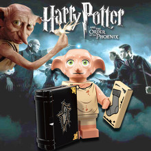 Building Blocks Harry Series Potters Dobby Moody Dumbledore Quirrell dobbie Voldemort Dean Thomas Legoe Toys Gift WM566(China)