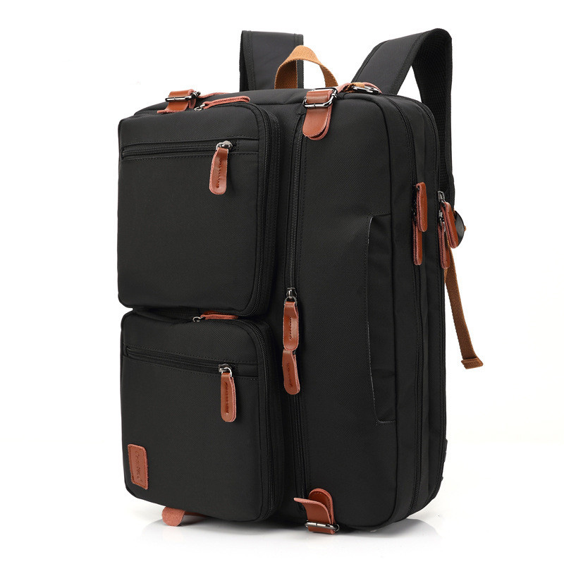 17.3 inch Laptop Business Backpack Men Multifunction Notebook Shoulder Bag Casual School Rucksack Computer Pouch army green men women laptop backpack 15 15 6inch rucksack school bag travel waterproof backpack men notebook computer bag black