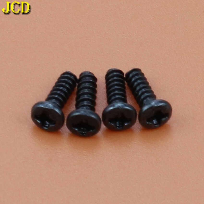 JCD 4 個黒なべねじ合金クロスボルトのためのプレイステーション 4 修理キットフィリップスヘッドネジ PS4 コントローラ