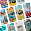BiNFUL Volkswagen VW Bus Summer Beach style clear Ultra Thin Phone Cases Cover for Apple iPhone 7 7Plus 6s 6Plus 5 5s X 8 8Plus