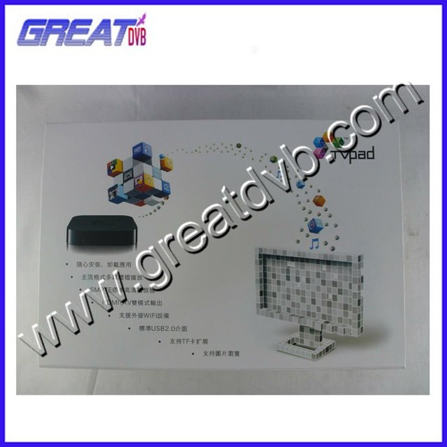 2012 free shipping hot sale the latest model  tvpad 2  M121 iptv set top box  Android-P282