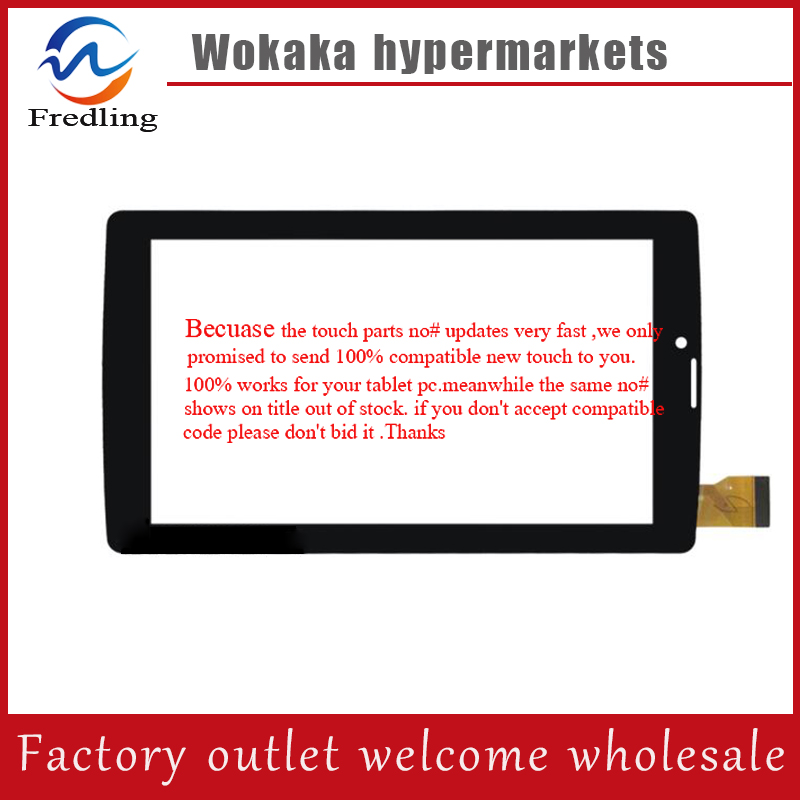 For 7 inch Tablet PC Digitizer Touch Screen Panel Replacement part QCY-FPC-070027-V2 YLD-CEG7253-FPC-A0 QCY 706 QCY 706 J ap 860mv