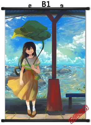 Cute Anime My Hero Academia   Midoriya Izuku Poster Wall Scroll  Home Decor Girl Gift