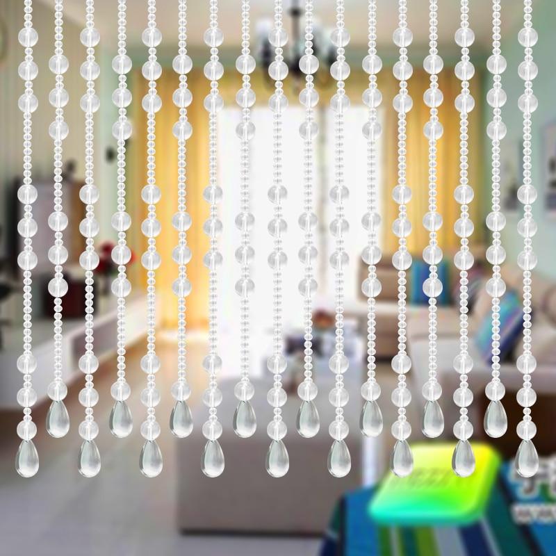 10 m / çox şüşə boncuk pərdə Tam aşınma deyil ev bəzəyi - Ev tekstil - Fotoqrafiya 4