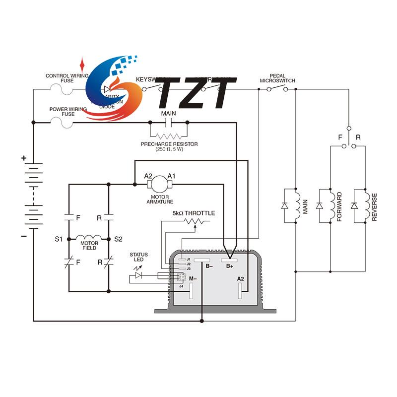 72v wiring diagram wire center u2022 rh losirekb pw Simple Wiring Diagrams Simple Wiring Diagrams