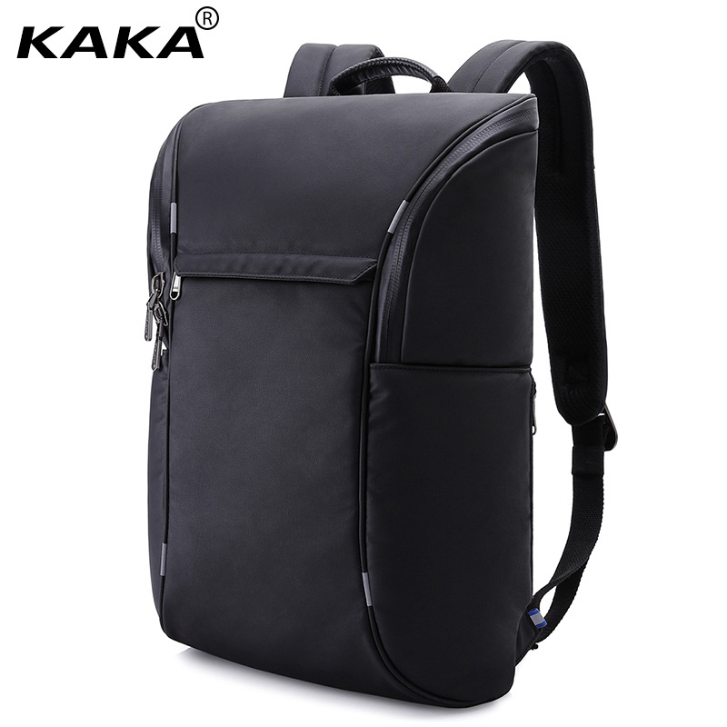 KAKA Brand 2018 Design Fashion Unisex School Backpack for 15.6 Laptop Women Black Waterproof Leisure Sports Travel Luggage Bag backpack fashion brand travel sports laptop for women and man school bag