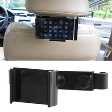 Car Back Seat Headrest 360 Degree Mount Holder Stand For iPhone Samsung GPS Cellphone DropShip