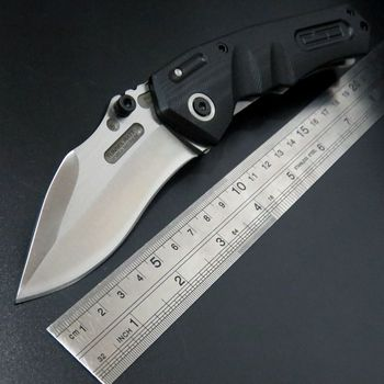 New Arrival TUNNEL RAT GFMIS MAGNUM Revol-GB folding knife G10 Griff Messer 9CR18MOV blade steel Outdoor Hunting Camping Knife model aircraft