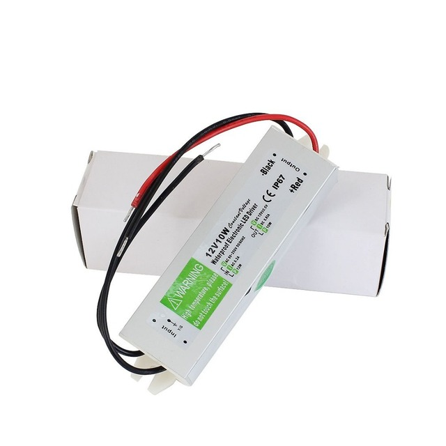 dc 12v 10w waterproof electronic led driver transformer power supplydc 12v 10w waterproof electronic led driver transformer power supply 110v 220v to 12v for underwater