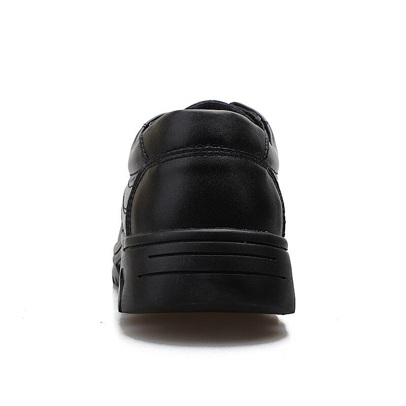 Genuíno Clássico Inverno Casuais D' Negócios De Homens Água Tênis Couro Calçados Homem brown Outono up Black À Dos Sapatos Grife Lace Vestir Prova AC8dq
