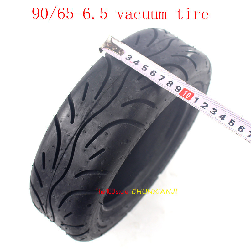 Vehicle Refitting big tire 90/65-6.5 Vacuum-tyre tubeless tire Road Off-road Dual-purpose Tire on Xiaomi No.9 Balance Vehicle image