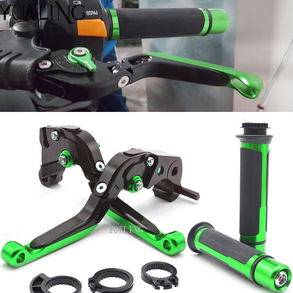 Accessoires de moto leviers d'embrayage de frein poignées de guidon pour Kawasaki Z1000 2003 2004 2005 2006 - 5