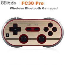 8Bitdo FC30 Pro Wireless Bluetooth Gamepad Game Controller Retro Dual  Classic Joystick For IOS