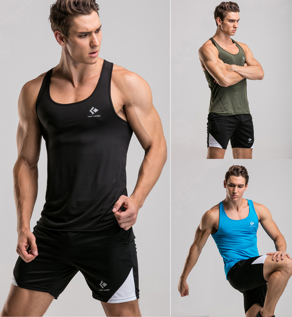 3671fbad60864a Yoga Sports Clothing Men s Tank Tops for Fitness   Bodybuilding Men Gym  Workout clothes Leisure Sports Vest wholesale
