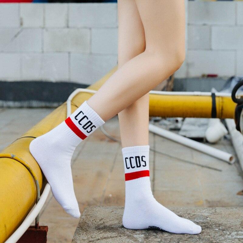 Underwear & Sleepwears Women's Socks & Hosiery Frank Bright Moon Cotton Socks Korean Harajuku English Letter Chaussette Femme Funny Socks Hip Hop Skateboard Crew Sokken Attractive Appearance