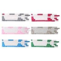 108 Keys Backlight PBT Keycaps For Corsair STRAFE K65/K70 Logitech G710+ Nov12 Drop ship